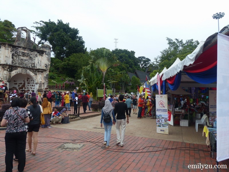 7. some of the booths at the carnival