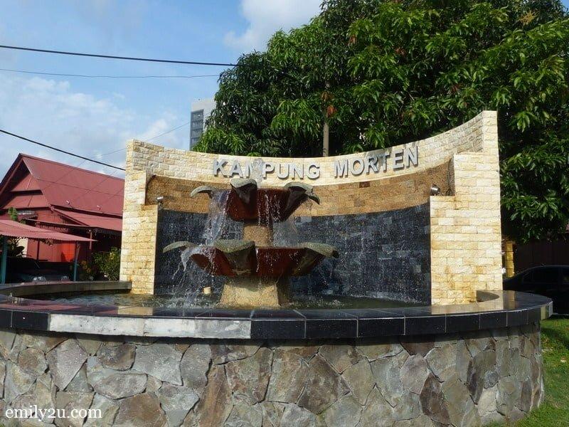8. a landmark of Kampung Morten in Melaka