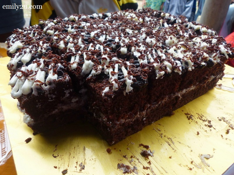 8. chocolate cheese leleh