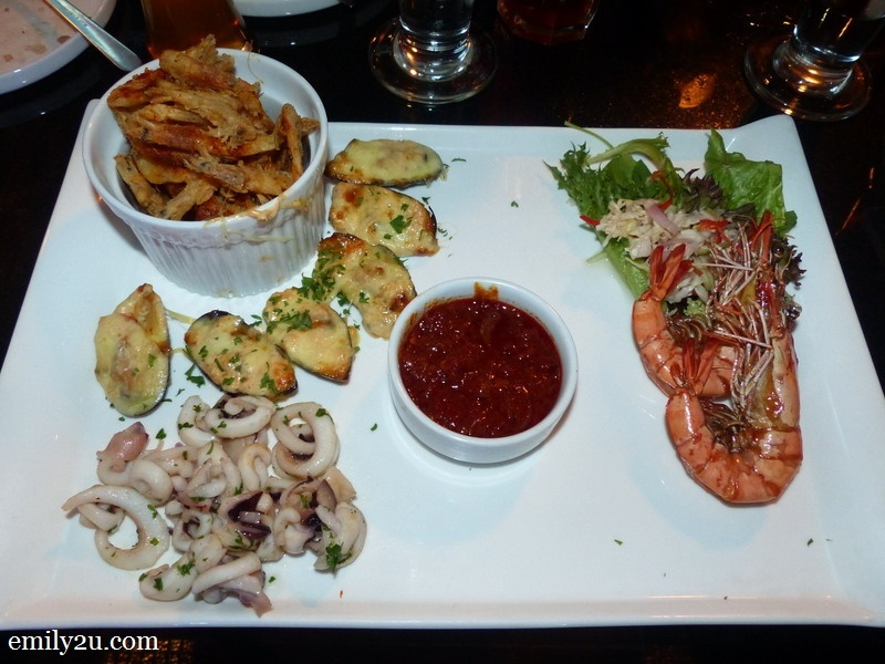 9. Seafood Platter