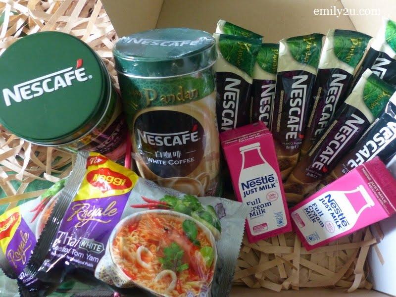 Nestlé products