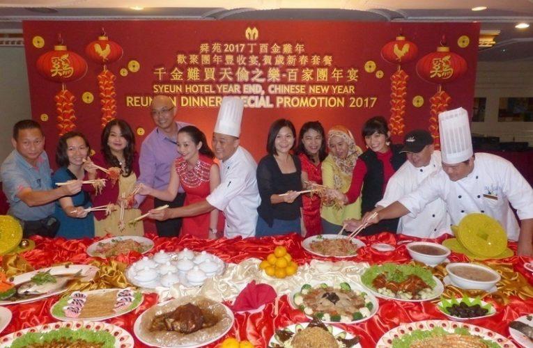 Syeun Hotel Ipoh Chinese New Year Reunion Dinner Menus