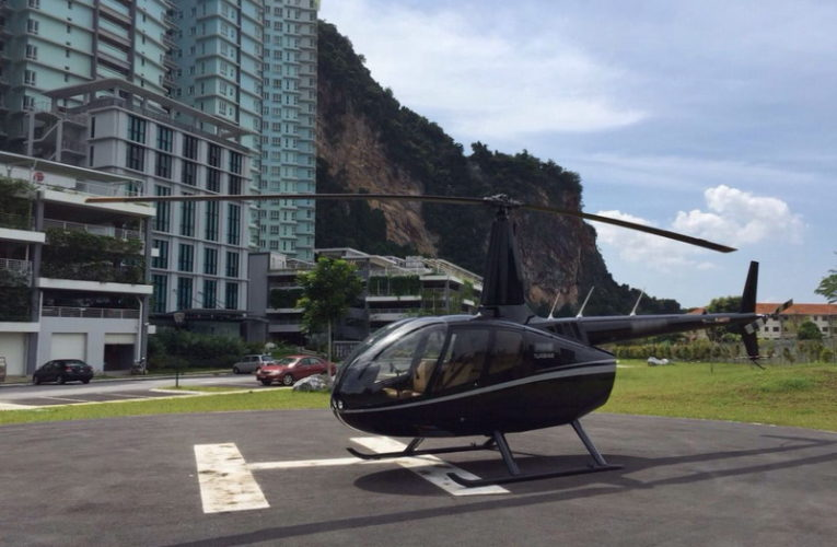 Impressive Transformation From Helipad to 400-pax Outdoor Banquet Venue