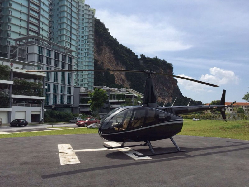 1. the helipad