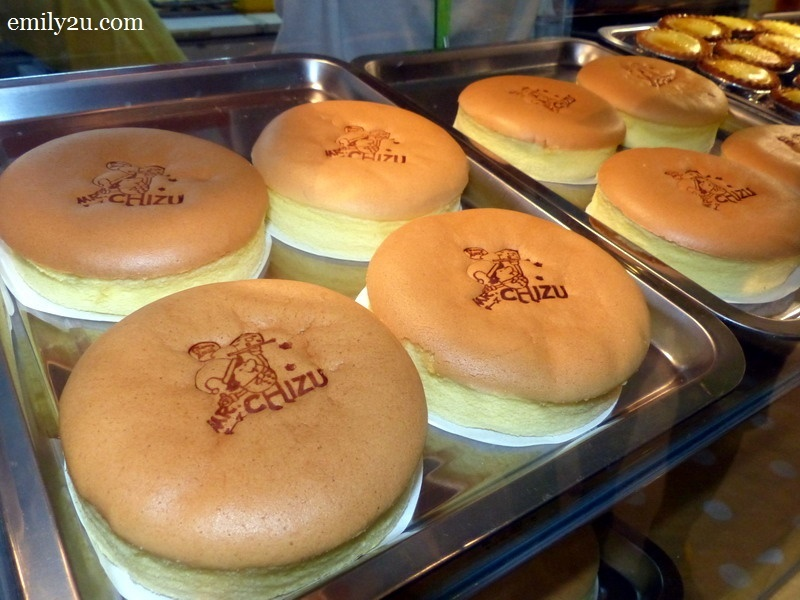 14. Mr. Chizu freshly baked cheese cakes - RM13.80 each