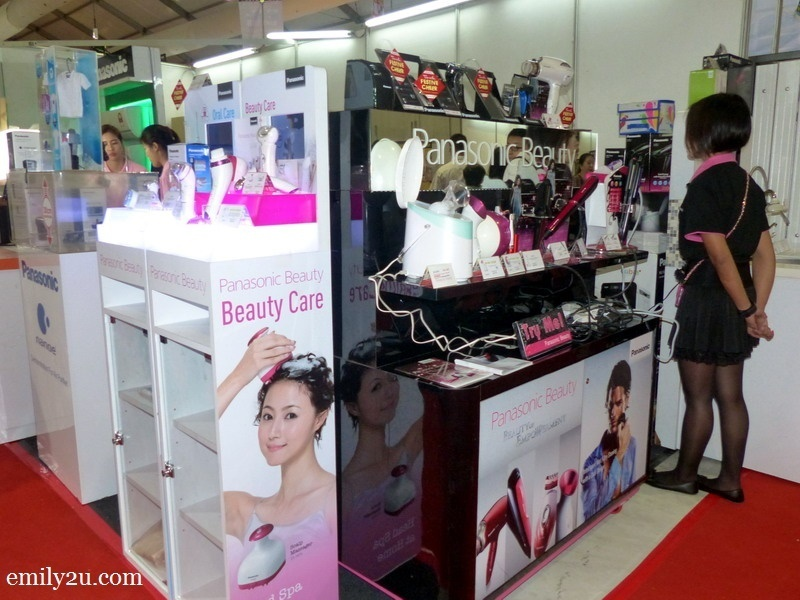 5. Panasonic beauty care booth