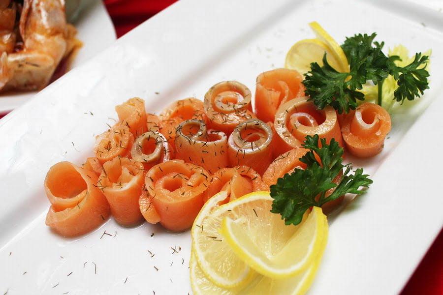 5. Smoked Salmon Platter
