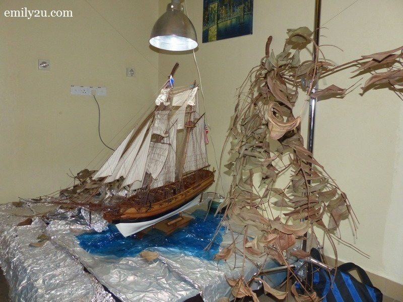 7. replica ship by woodcraft master Azhar Kamarudin (Captain Jack)
