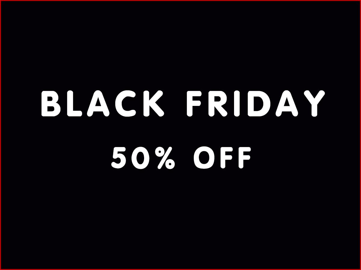 7. Black Friday promotion ends on 31st Dec, 2016