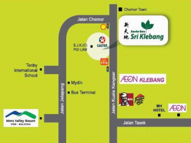 9. location map of Bandar Baru Sri Klebang (BBSK)