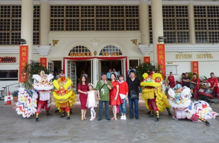 2017 Chinese New Year Celebration at Syeun Hotel Ipoh
