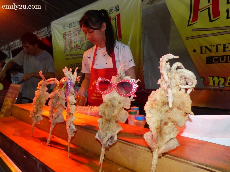 10. fried squid
