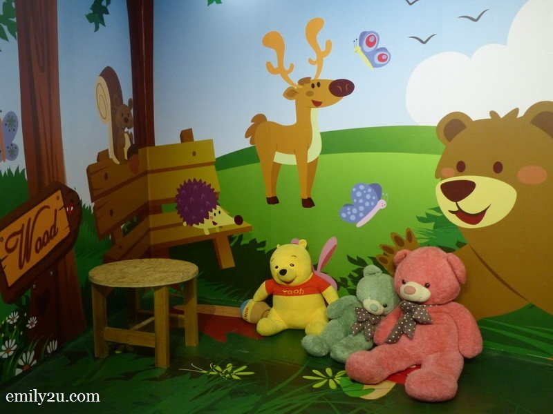10. Winnie the Pooh corner