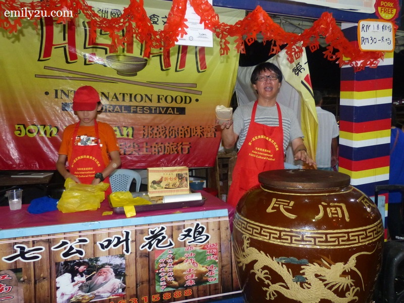 11. one of the many stalls at the Asian International Food & Culture Festival in Ipoh