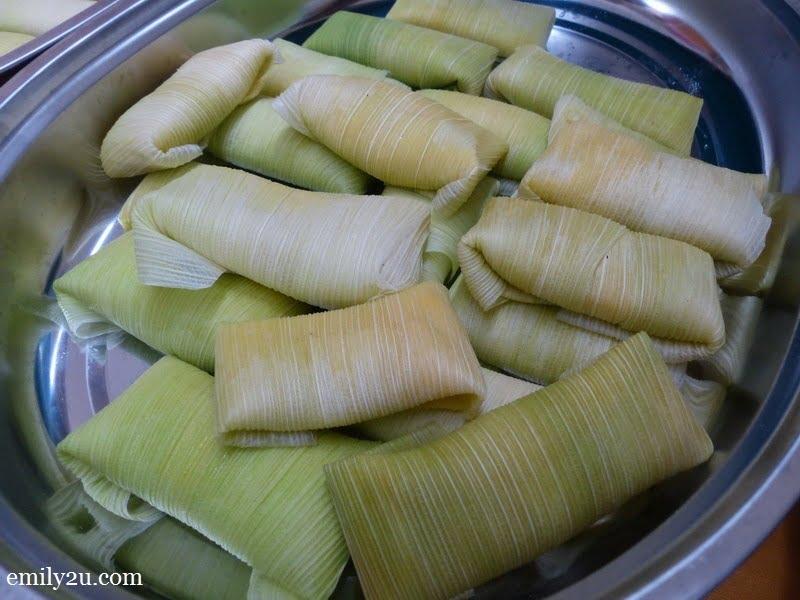 12. sticky corn