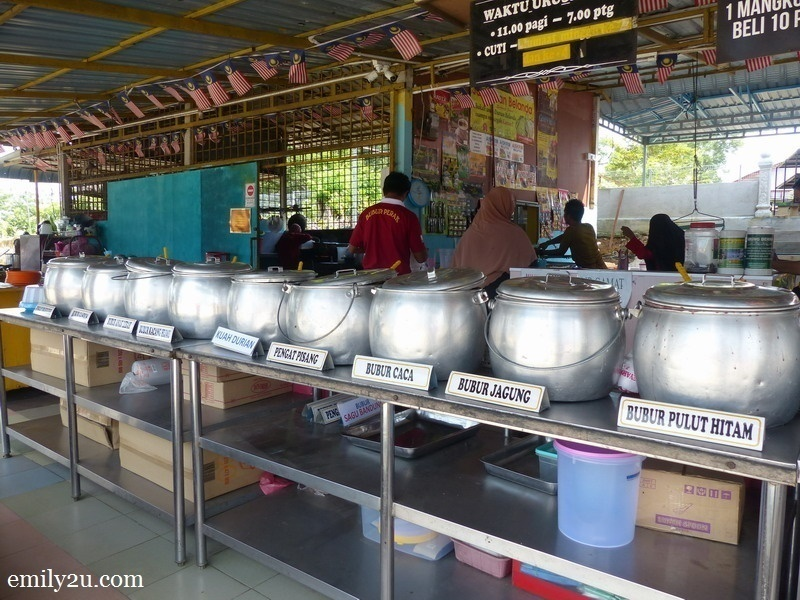 13. the twelve different flavours of bubur