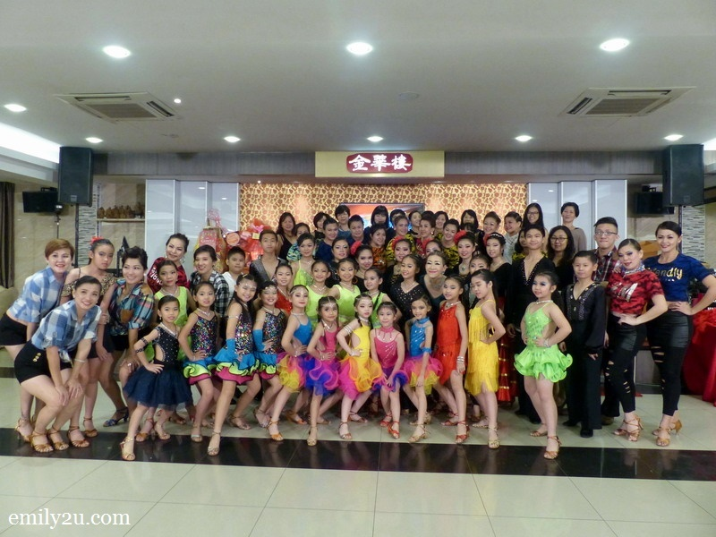 14. group photo of students of Creative Latin Dance Academy with founder-cum-principal CL Tan