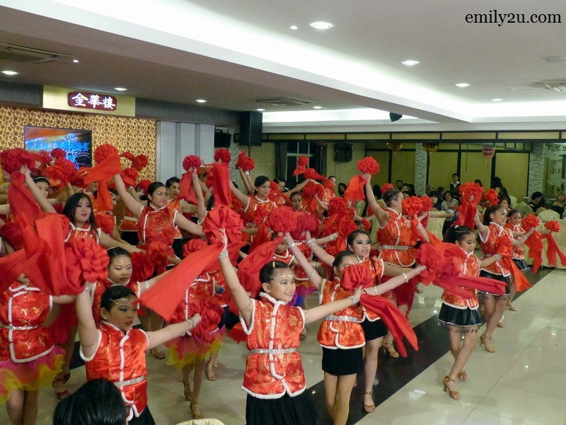 2. Chinese New Year dance