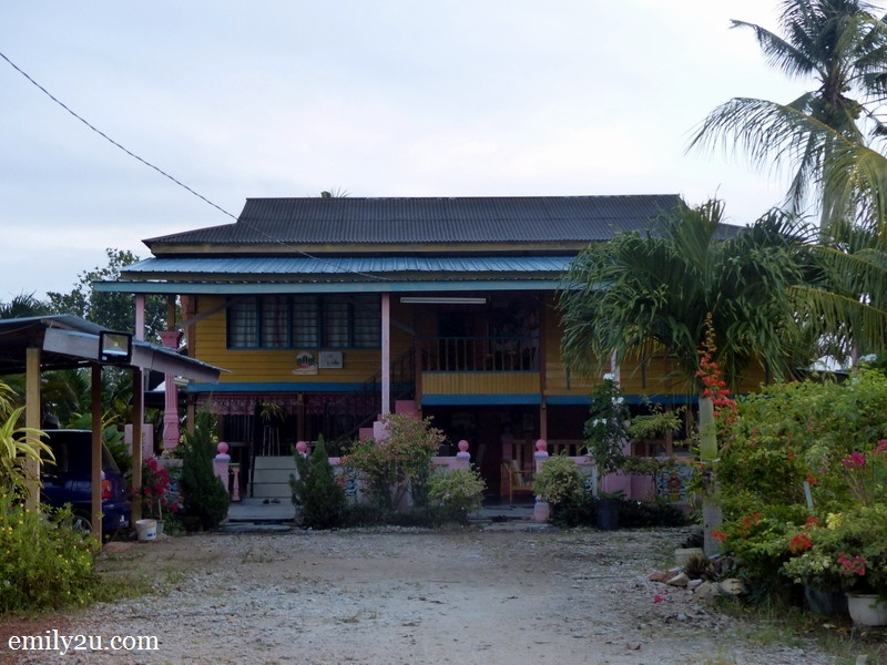 2. one of the properties in the homestay programme