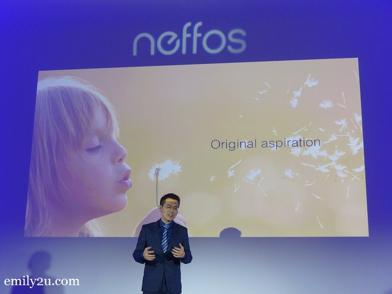 2. brand sharing by Thomas Bai, Neffos Brand Director