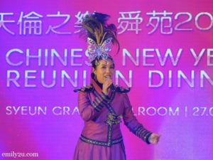 20 Chinese New Year reunion dinner