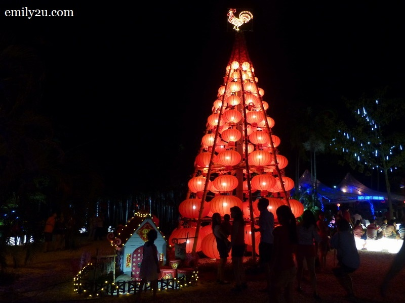 4. the Rooster Lantern Tree