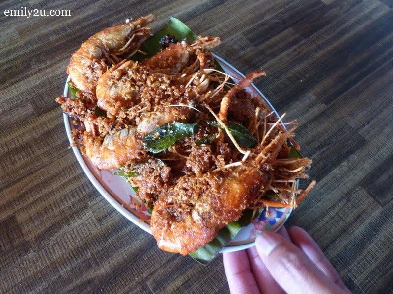4. freshwater prawns