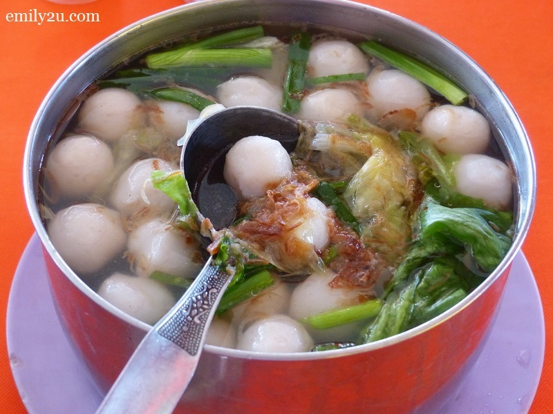 4. fish ball soup