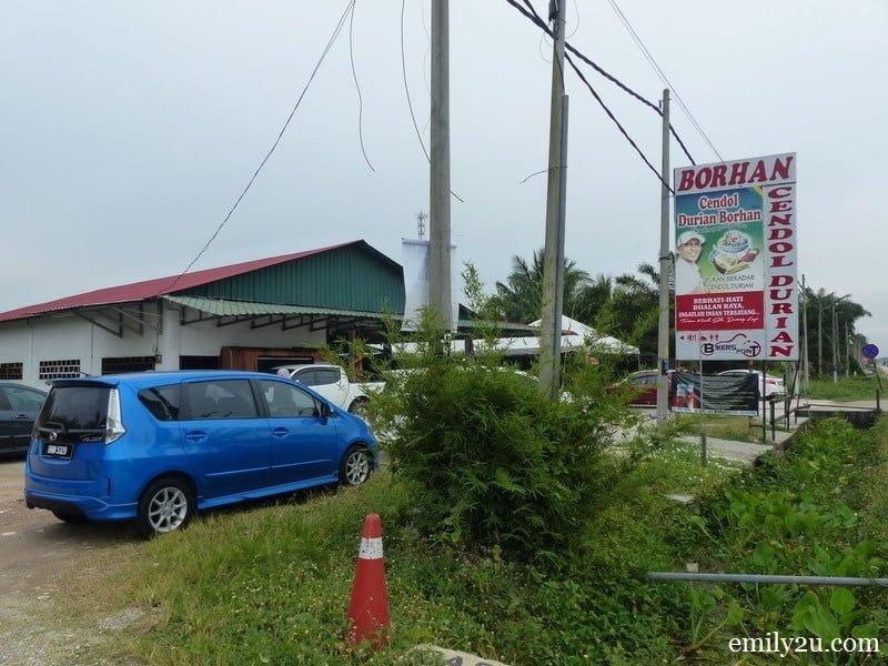 5. Cendol Durian Borhan