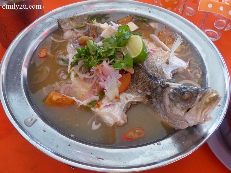 5. steam fish