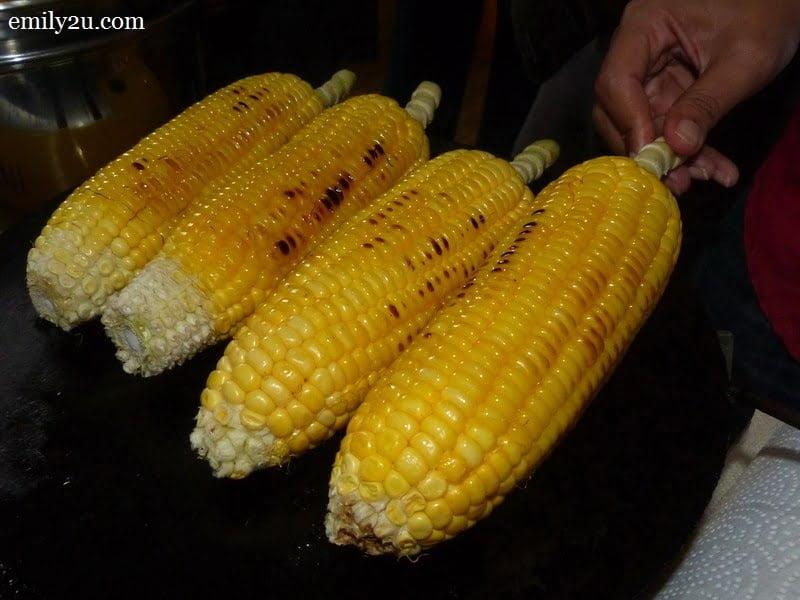 5. corn on the cob