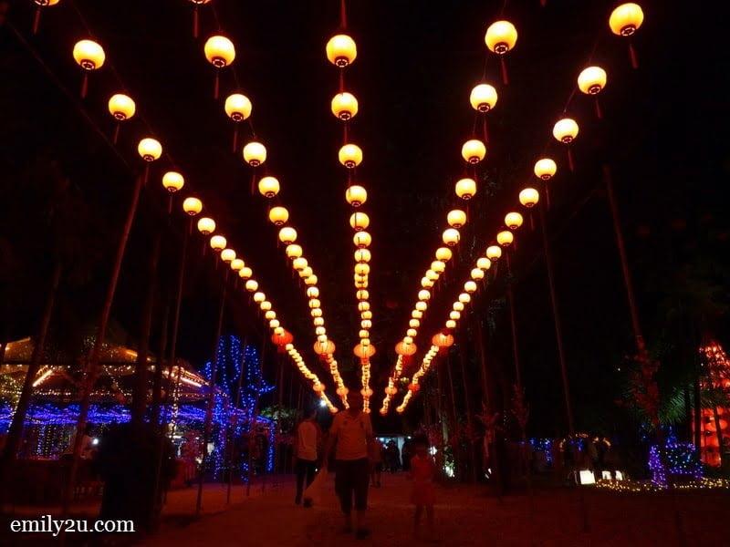 6. lantern path