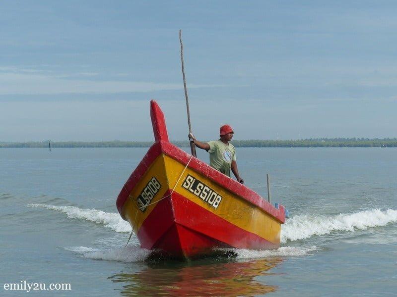 6. a boatman