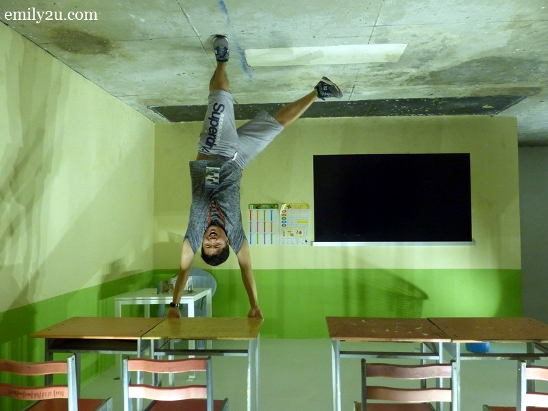 7. Amos, the upside down student