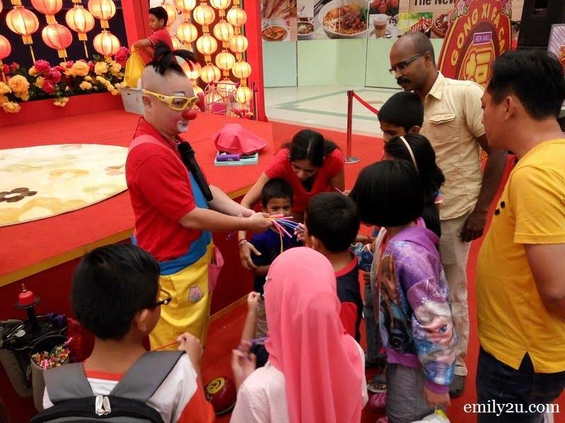 8. children pick their favourite balloon colours