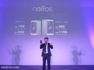 8 Neffos X series