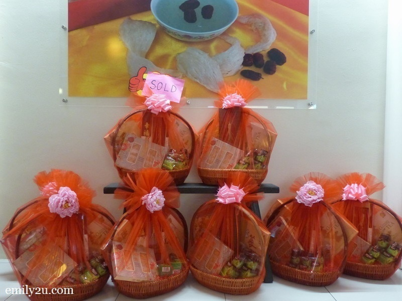9. bird's nest hampers as Chinese New Year gifts