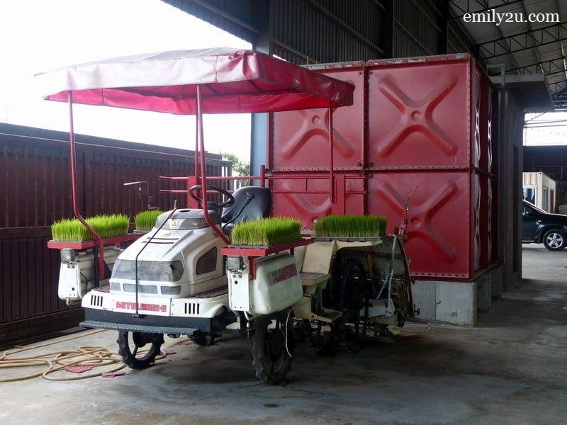 9. rice transplanter