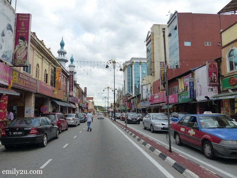 9. Tengku Kelana Street (Little India)