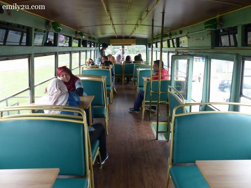 2. interior of N.16 Bus Café