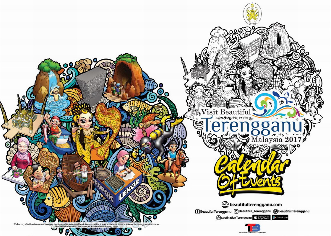 Visit Beautiful Terengganu 2017 Calendar of Events