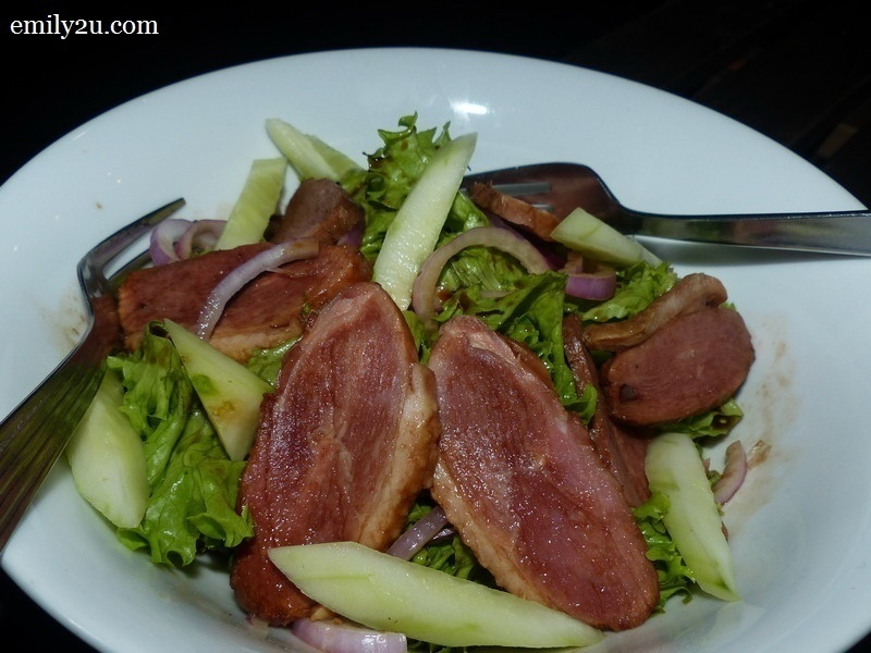 4. D'Pine Café: Smoked Duck Salad