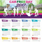 2017 Ipoh Car-Free Day Calendar