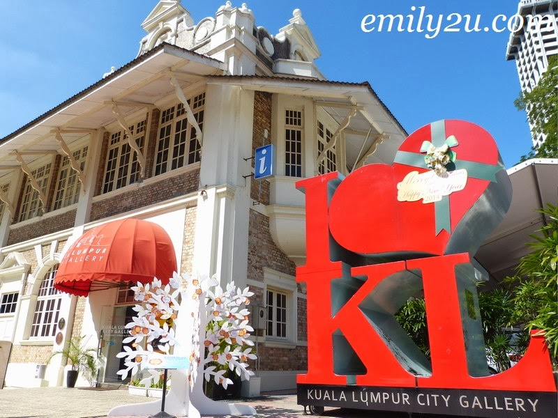 Kuala Lumpur City Gallery (meet up point for Trail 1)