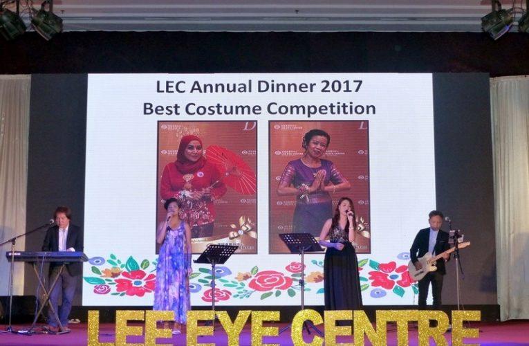 Lee Eye Centre Annual Dinner 2017