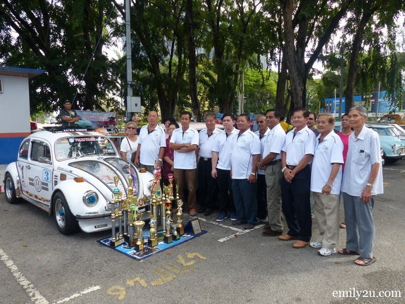 1. members of Perak Classic Car Club (PCCC)