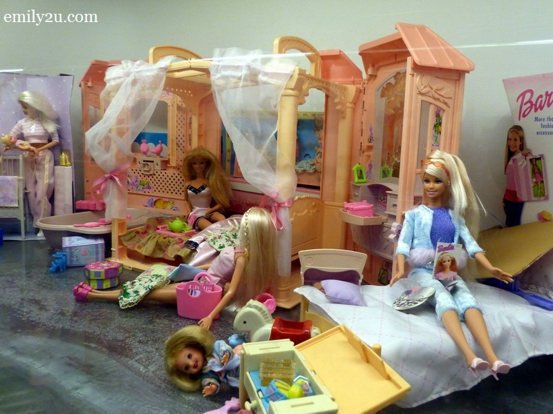 1. Barbie dolls
