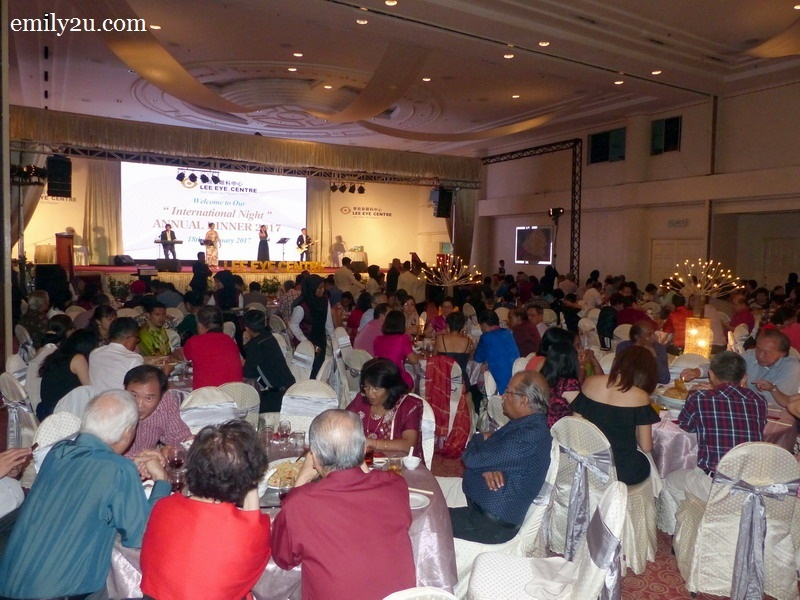 10. the packed ballroom