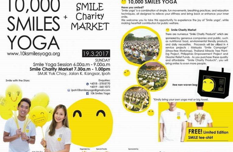 Announcement: 2017 10,000 Smiles Yoga (Ipoh)