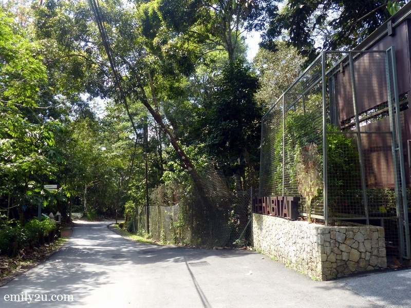 19. the exit of The Habitat Penang Hill